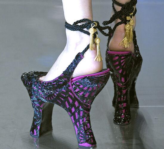 Dual Heel Shoes