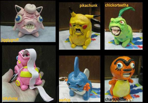 Disfigured Creature Figurines