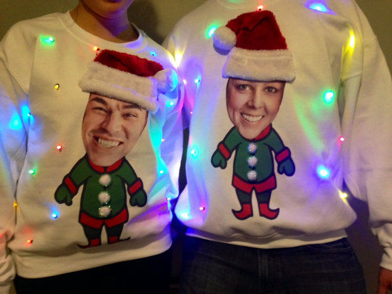 Personalized Holiday Jumpers