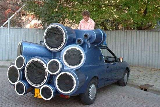 Monstrous Car Audio Systems