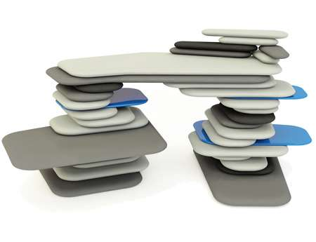 Stacked Furniture as Art