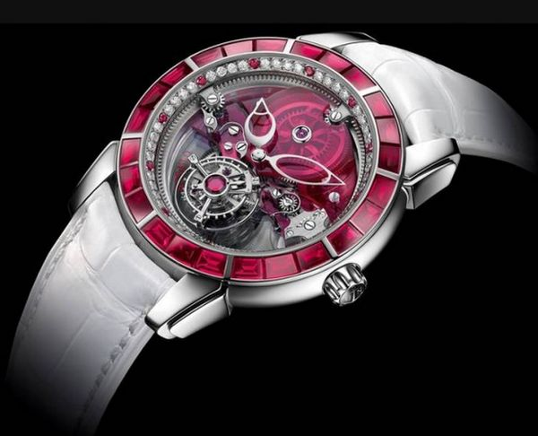 Brilliant Ruby Timepieces