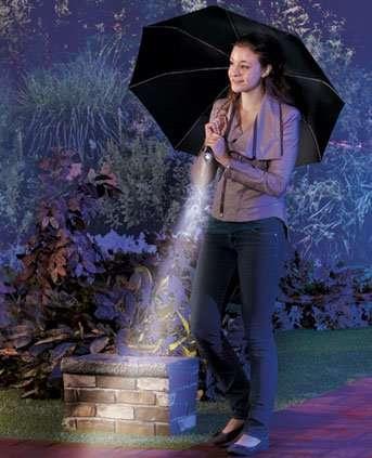 Multifunctional Umbrella Handles
