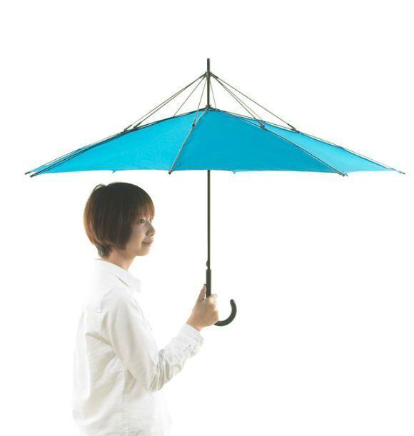 Upside Down Umbrellas