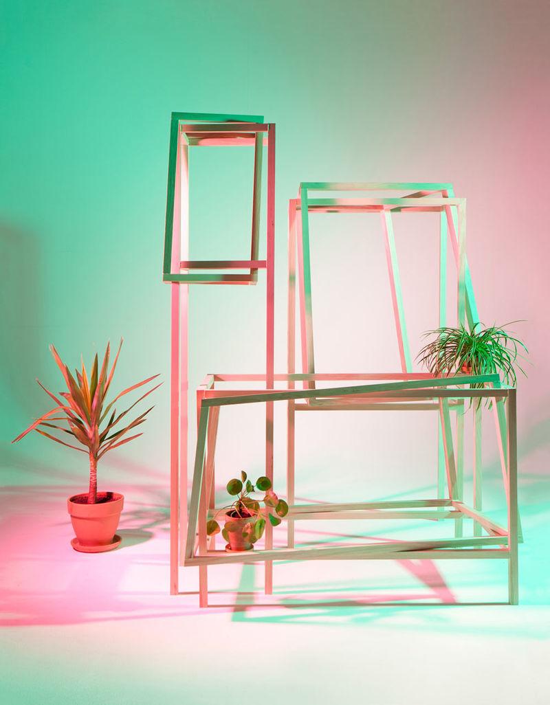 Unconventional Geometric Furniture