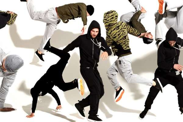 Surreal B-Boying Lookbooks