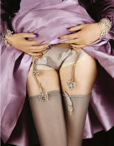 Bling Under Your Skirt