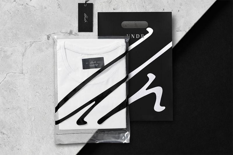 Minimalist Undergarment Packaging