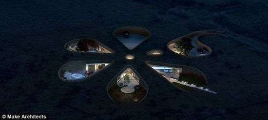 Flower-Shaped Eco Homes