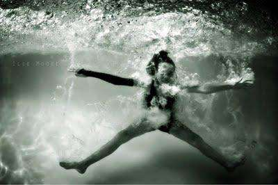 Underwater Splashes by Ilse Moore
