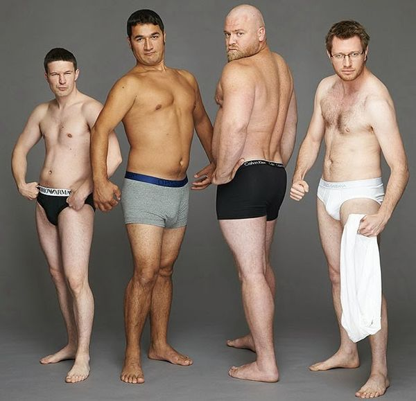 Realistic Underwear Models