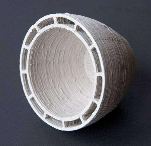 Printed 3D Ceramics