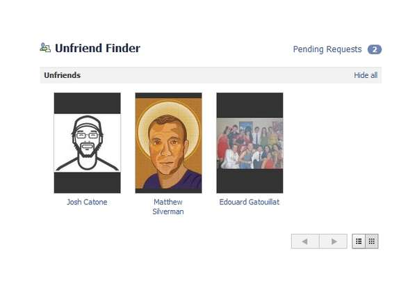 Unfriend Finder