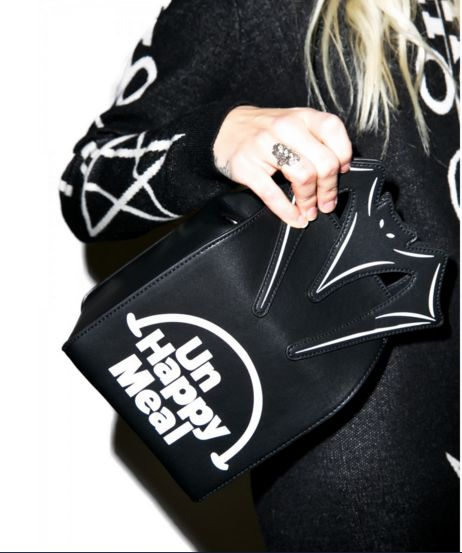 Gothic Fast Food Handbags