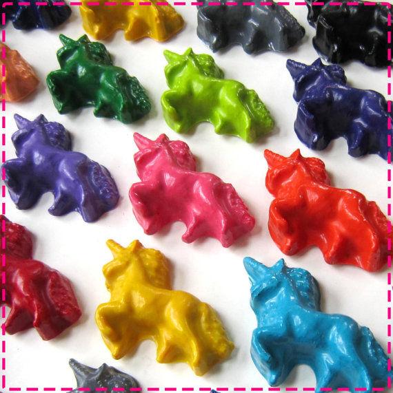 Mythical Unicorn Crayons