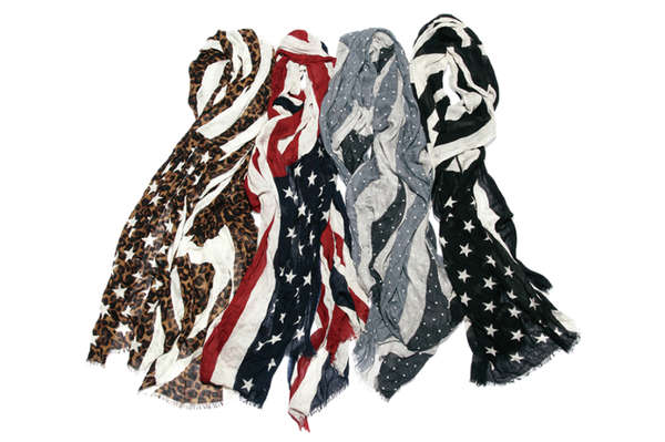 Star-Spangled Scarves