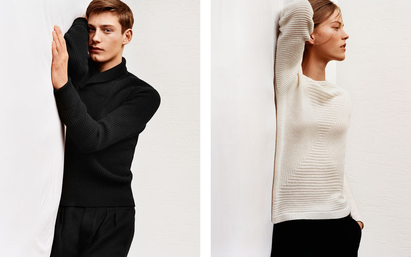 Understated Knit Apparel