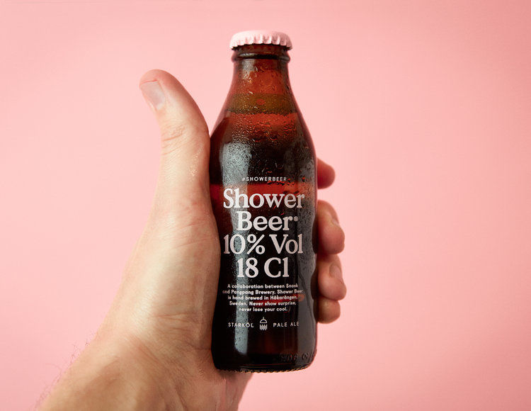 In-Shower Beer Beverages