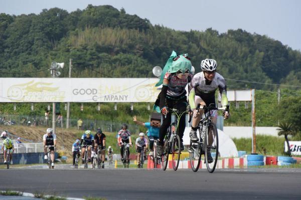 Cosplay Bicycle Races