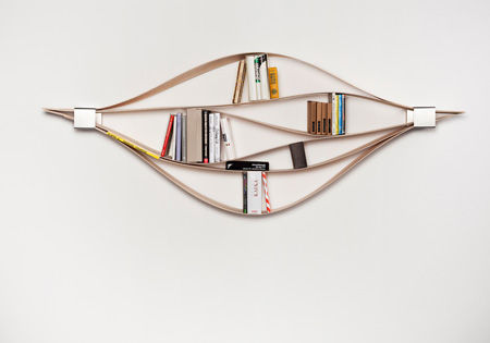 Shape-Adapting Bookshelves