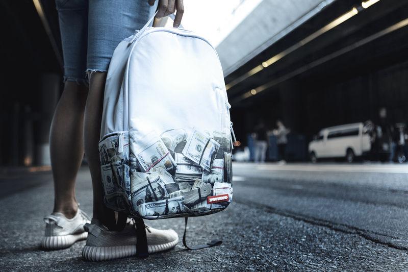 Money-Printed Backpacks