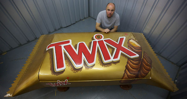 Candy Bar-Themed Coffins