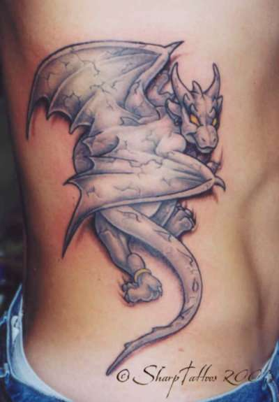 Gargoyle Tattoos Images: The Tattoos Of Paul N. Dion .