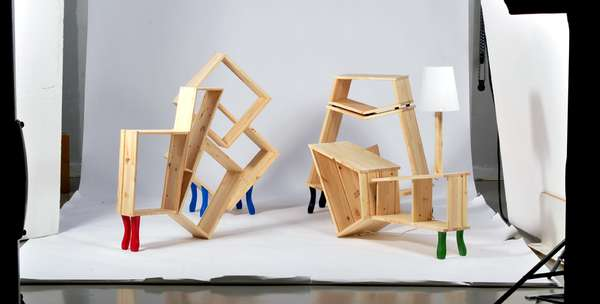 Flat Pack Furniture Art