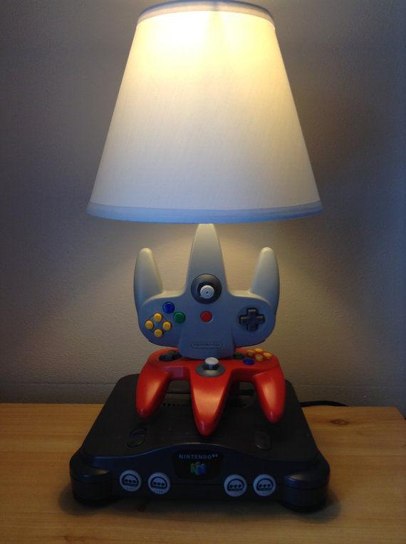 nostalgic gamer lamps   unique lamp