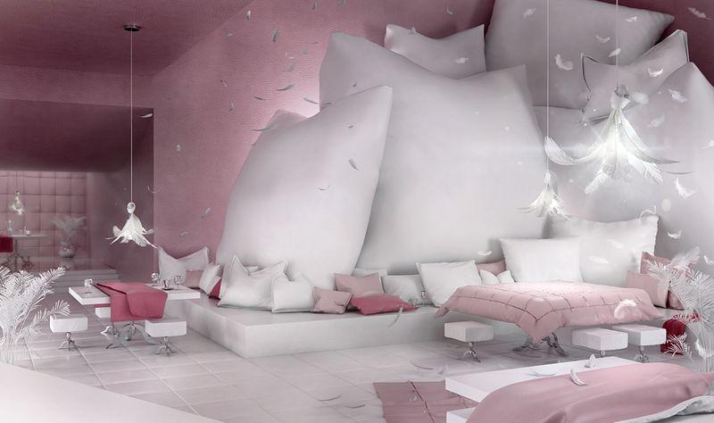 Bedroom-Inspired Restaurants