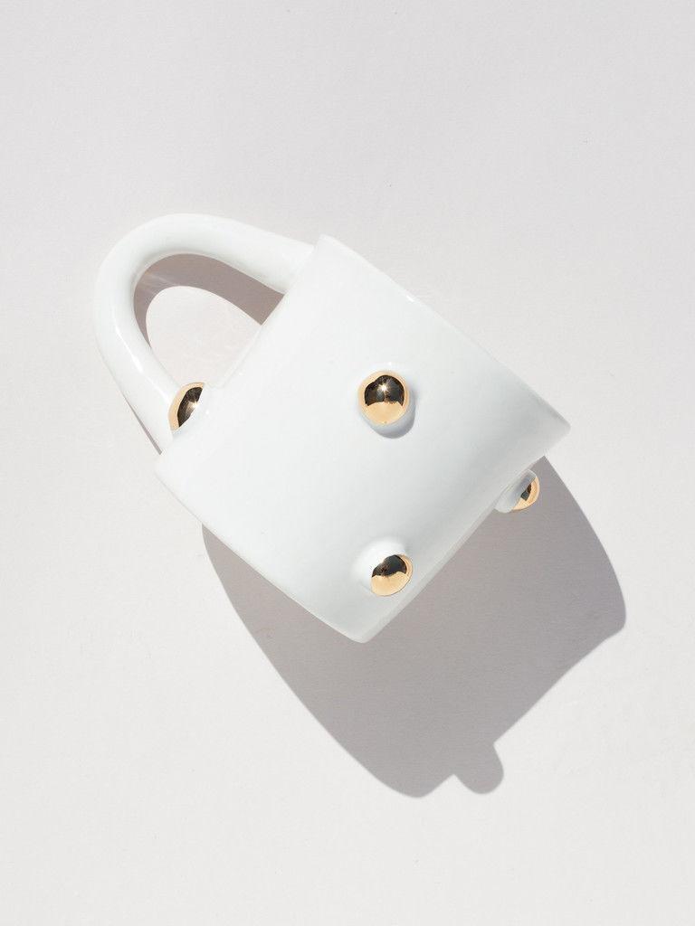 Artisan Porcelain Coffee Mugs