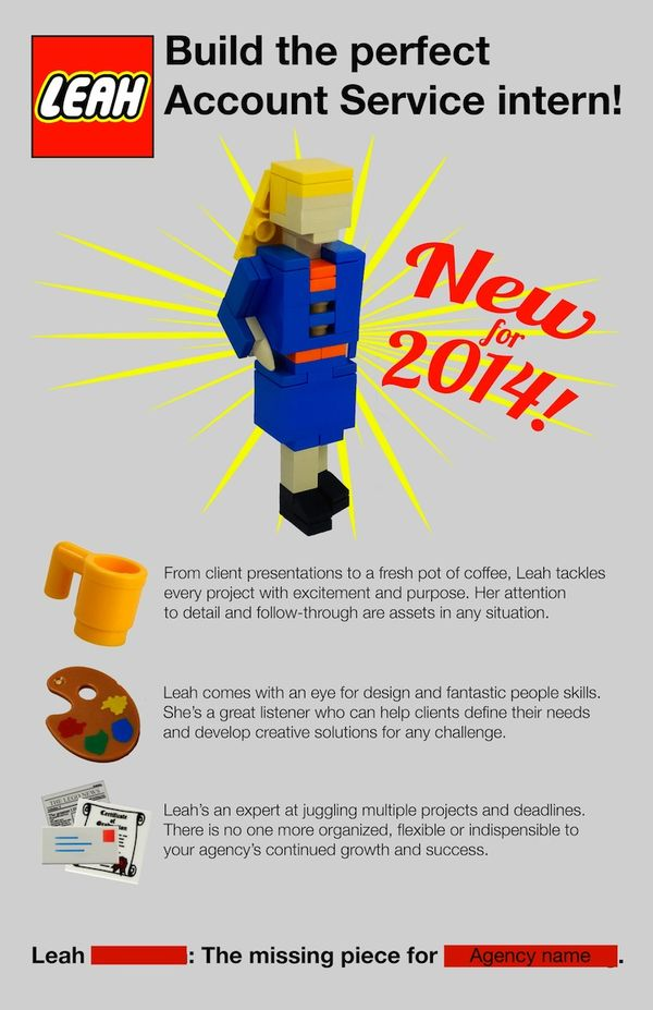 Unforgettable LEGO Resumes