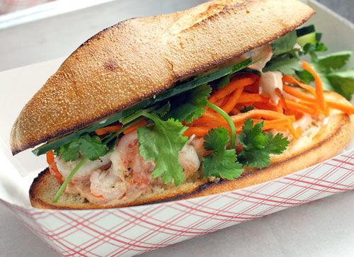 Coconut Shrimp Sandwiches