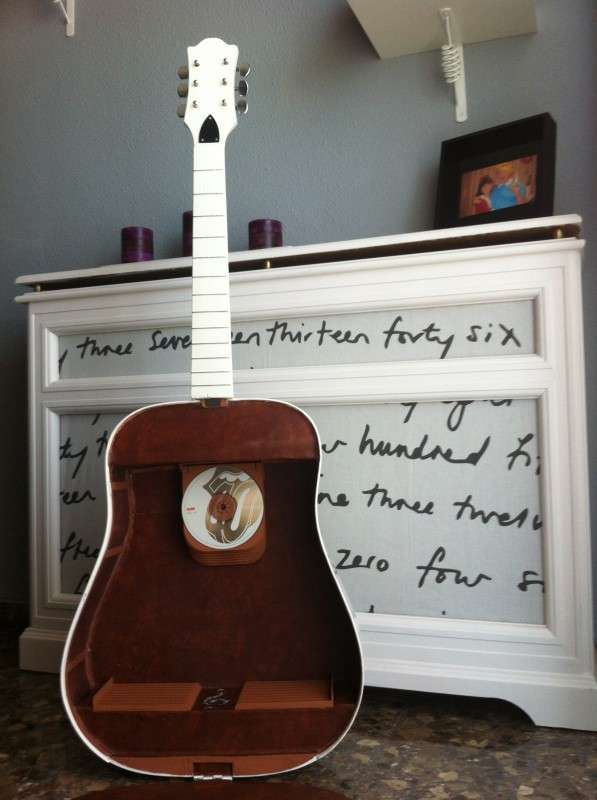 Recycled Guitar Storage Solutions Unique Shelf For Cds