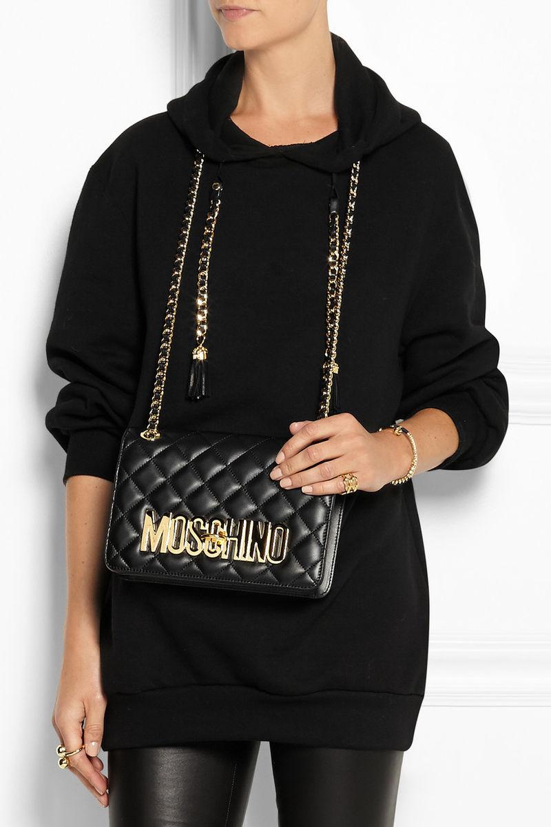 Handbag-Integrated Hoodies