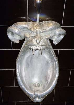 Urinals as Sculptures