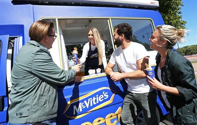 Branded Ice Cream Trucks