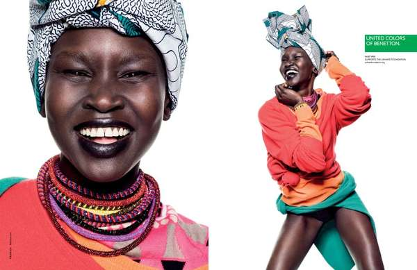 Vibrantly Happy Fashion Ads