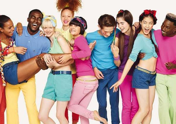 Cheerful Group Fashions