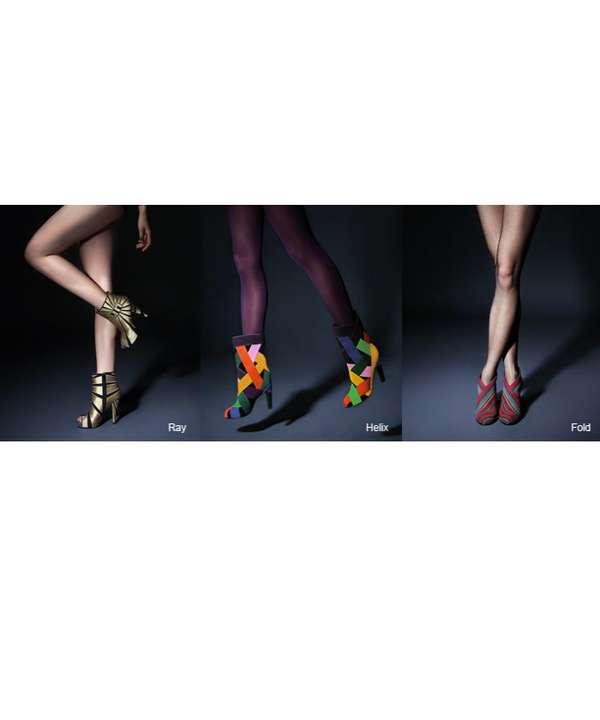 Funky Kaleidoscope Heels