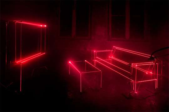 Laser-Lined Lounges