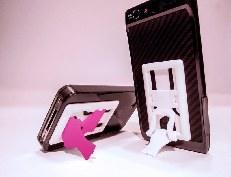 Sliding Smartphone Supporters