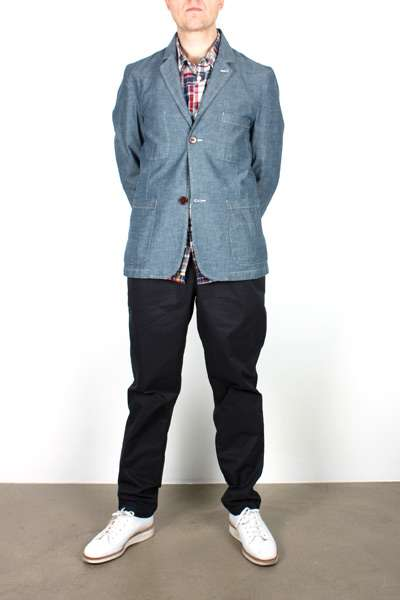 Universal Works Chambray Suit Jacket