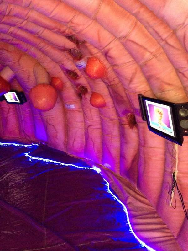 Immersive Educational Anatomy Exhibits