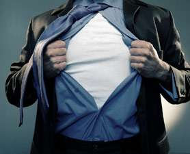 Real-Life Superhero T-Shirts