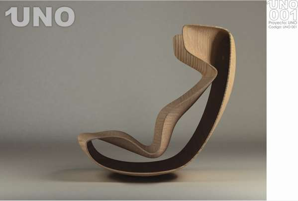 Corporeal Contouring Rockers Uno Lounge Chair