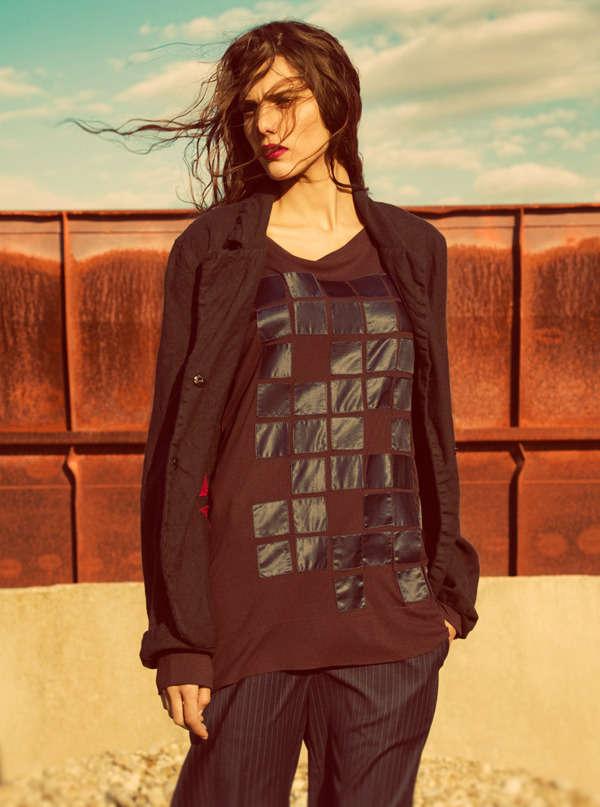 Striking Desert Fashion Photography