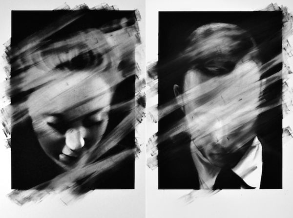 Hauntingly Erased Portraits