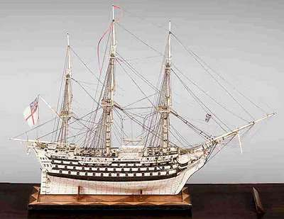 Ship Made From Hair & Bones