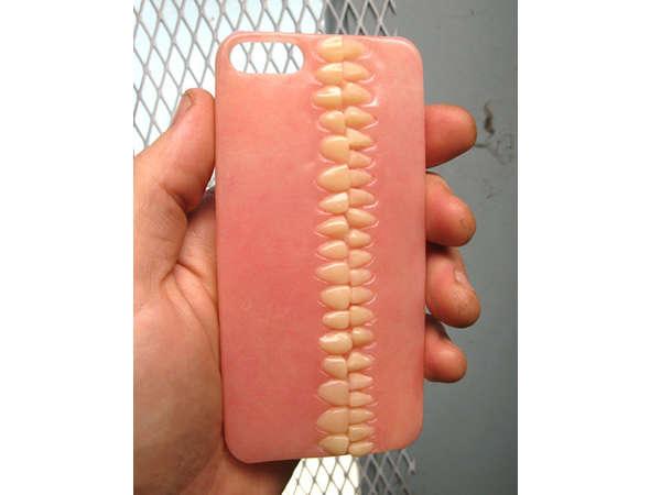 Denture-Inspired Phone Cases